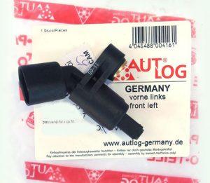 Датчик ABS передний левый AUTLOG (Германия) Chery Amulet, Geely CK A11-3550111/AUTLOG