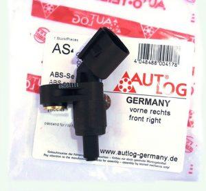Датчик ABS передний правый AUTLOG (Германия) Chery Amulet, Geely CK A11-3550112/AUTLOG