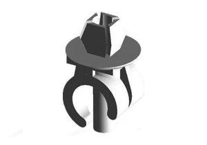 Клипса (фиксатор) упора капота Chery Amulet A11-8402261
