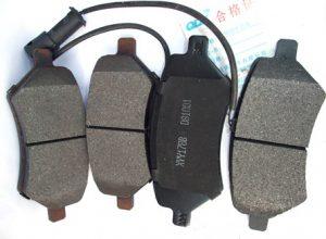 Колодки тормозные передние Chery Elara/Eastar/Forza/Tiggo/TiggoFL (вентилируемые диски) A21-6GN3501080BA
