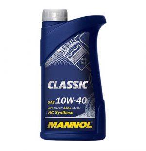 Моторное масло 10W-40 Mannol Classic 1l