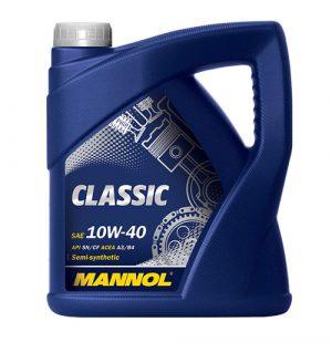 Моторное масло 10W-40 Mannol Classic 4l