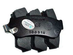 Колодки тормозные передние Chana Benni CV6060-1600/1501/1502
