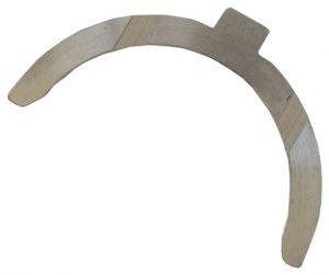 Полукольцо осевого смещения коленвала нижнее Geely СК/MK/LC E020301701