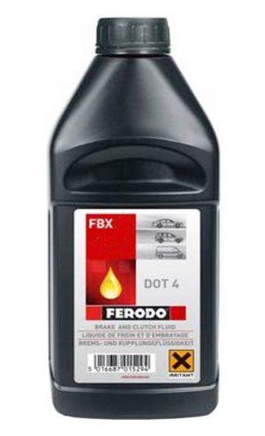 Тормозная жидкость DOT4 Ferodo 1l