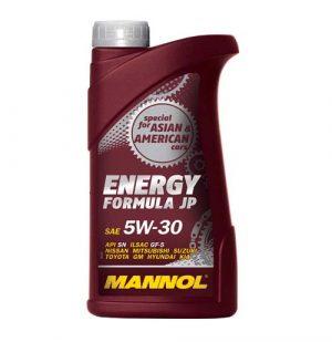 Моторное масло 5W-30 Mannol Formula JP 1l