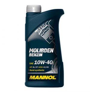 Моторное масло 10W-40 Mannol Molibden 1l