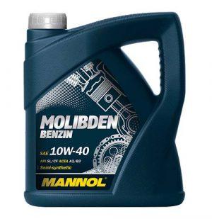 Моторное масло 10W-40 Mannol Molibden 4l