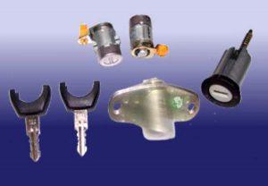 Комплект замков и ключей Chery QQ S11-6105PBA