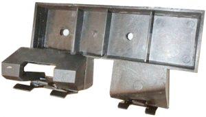 Кронштейн бампера переднего нижний правый Chery Beat S18D-2803546