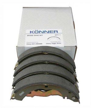 Колодки тормозные задние Konner (Корея) Chery Kimo/Jaggi S21-3502080/Konner