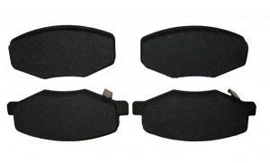 Колодки тормозные передние (нового образца, 2011 г.-) Chery Kimo/Jaggi S21-6GN3501080