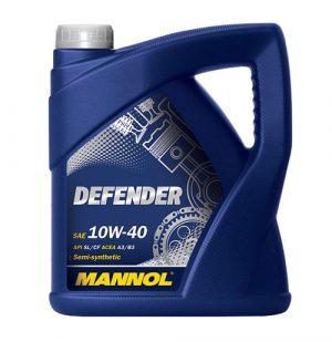 Моторное масло 10W-40 Mannol Defender 4l