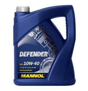 Моторное масло 10W-40 Mannol Defender 5l