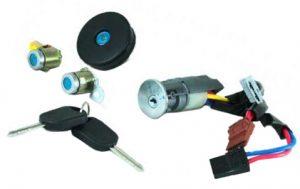 Комплект ключей и личинок с контактной группой Lifan 520 (Лифан 520) SL37001 SL37001