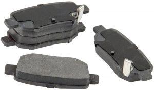 Колодки тормозные задние Lifan X60 SS35002