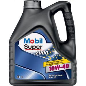 Моторное масло 10W-40 Mobil Super 2000 X1 4l