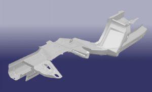 Лонжерон передний левый Chery Tiggo T11-5101030-DY