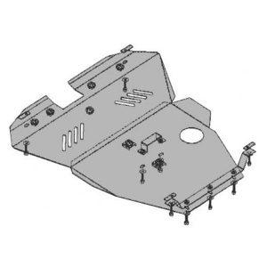 Защита двигателя металлическая KOLCHUGA 2.0l (2004 -до н.в.) Chery Eastar 1.0024.00