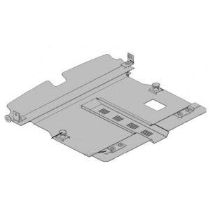 Защита двигателя металлическая KOLCHUGA Chery QQ 1.0079.00