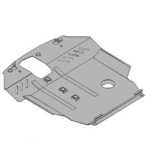 Защита двигателя металлическая KOLCHUGA (2006-2011) Chery Elara 1.0160.00
