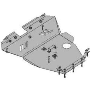 Защита двигателя металлическая KOLCHUGA 2.4l (2007 -до н.в.) Chery Eastar 1.0179.00