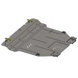 Защита двигателя металлическая KOLCHUGA Chery M11 1.0343.00