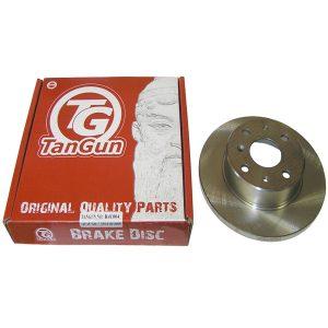 Диск тормозной передний (ABS) Tangun (Корея) Geely CK 3501101005/Tangun