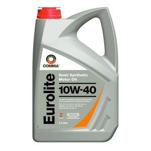 Моторное масло 10W-40 Comma Eurolite 5l