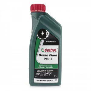 Тормозная жидкость DOT4 Castrol 1l